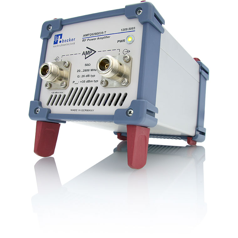 High dynamic RF V/UHF wideband-amplifier - AMP20280035-T